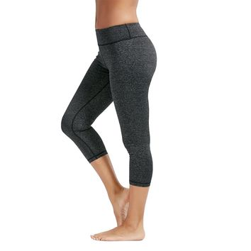 """Ellie"" Cropped Yoga Pants"