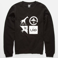 Lrg Logo Cluster Mens Hoodie Black  In Sizes