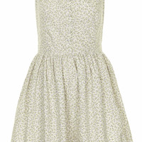 **BUTTON FRONT SUNDRESS BY ANNIE GREENABELLE