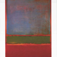 Mark Rothko Violet Green Red 1951 Poster 24x36