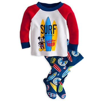 Disney Mickey Mouse Surf PJ Pal for Baby | Disney Store