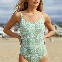 Rhythm Florida Scoop Neck One Piece Swimsuit at PacSun.com