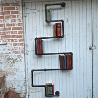 Industrial Pipe Bookshelf, Saint Stephen