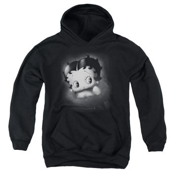 Betty Boop - Vintage Star Youth Pull Over Hoodie