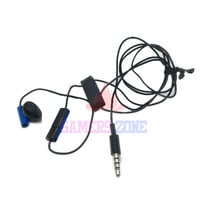 Wired Earphone For Sony Blue Mono Headset for PS4 Headphone Unilateral Ear Jack W Mic Swicth