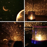 Hot New  AMAZING STAR MASTER LED Cosmos Sky Projector Bedroom Night Light Lamp Kids Gift   #L014145