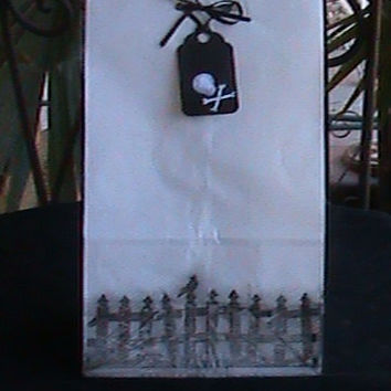 Gothic Halloween Birthday Loot/Goody/Favor Bags 10 for 10 Dollars
