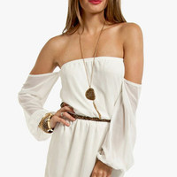Flaunt It Off Shoulder Dress $37 (on sale from $54)