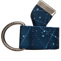The Double D Belt in Navy
