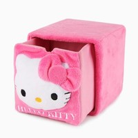 Hello Kitty Plush Cube Drawer: Pink