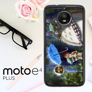 Totoro Star Wars Y1848 Motorola Moto E4 Plus Case