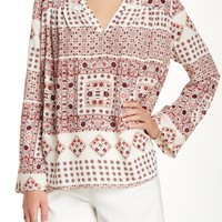 On HauteLook: Sam&Lavi | Everly Printed Blouse