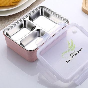 Hot Sale Lunchbox Food Container Bento Microwave Lunchbox Dinnerware Sets Outdoor Picnic Food Storage Portable Tableware
