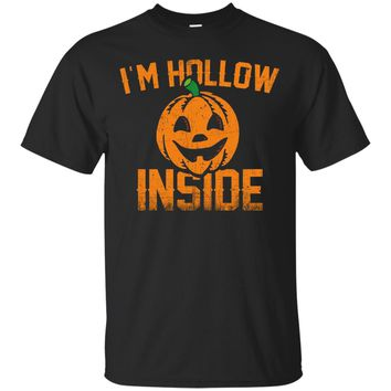 I'm Hollow Inside T-Shirt Funny Halloween Costume Party