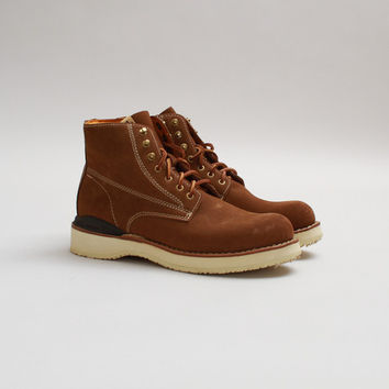 CNCPTS / Visvim Virgil Boots Folk (Light Brown)