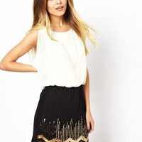 Vero Moda Sequin Skirt Dress