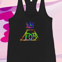 fall out boy logo For Tank top women and men unisex adult