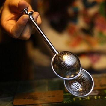 Movable tea tea strainers tea filter tea bar creative tea filter tea strainer