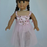 "Unique Doll Clothing Doll Clothes - Ballet Ballerina Dance Dress fits American Girl Dolls and Most 18"" Dolls Including Madame Alexander"