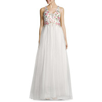 My Michelle Sleeveless Embroidered Ball Gown Juniors JCPenney