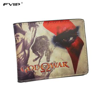 FVIP New Arrival Thin Wallet God of War /LOL / Iron Man / Adventure Time /Harry Potter Wallets With Card Holder Dollar Price