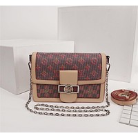 LV Louis Vuitton WOMEN'S MONOGRAM LV Pop CANVAS DAUPHINE INCLINED SHOULDER BAG