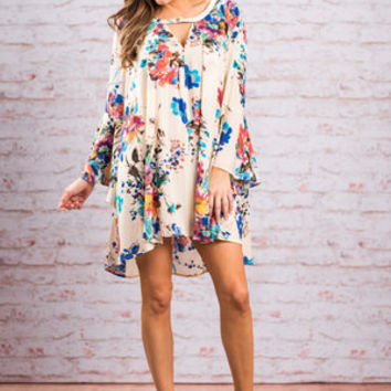 Free To Be Fun Tunic, Blue