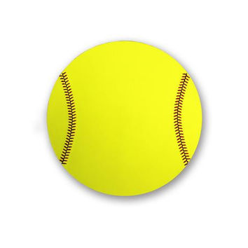 Zumer Sport Softball Mouse Pad