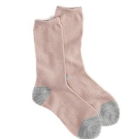 AEO CONTRAST METALLIC SOCK