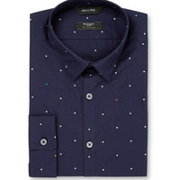 Paul Smith London - Navy Slim-Fit Printed Cotton Shirt | MR PORTER