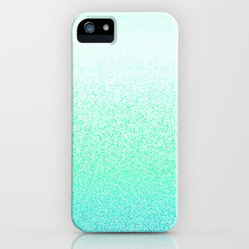 I Dream in Mint iPhone & iPod Case by M Studio - (NOT REAL GLITTER) - iPhone 3G, 3GS, 4, 4S, 5/iPod Touch 5/Galaxy S4