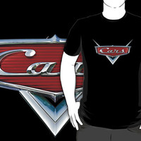 disney pixar Cars Logo black t-shirt