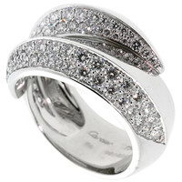 Cartier Panthere Diamond Gold Ring