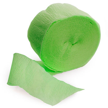 Lime Green - Birthday Party Streamers