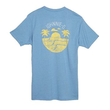 Scenic T-Shirt in Gulf Blue by Johnnie-O