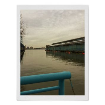Waterfront Photo Poster
