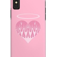 Heart on Fire Phone Case