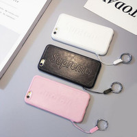 Solid color couple PU mobile phone case for iphone 6 6s 6 plus 6s plus + Nice gift box 71501