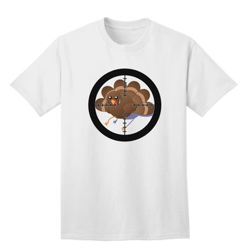 Turkey Trouble - Thanksgiving Funny Adult T-Shirt