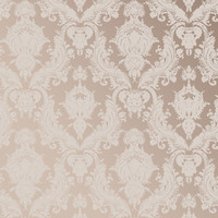 Sample Damsel Textured Self Adhesive Wallpaper in Bisque design by Tempaper