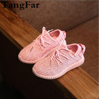Hot Item 2017 Children Casual Shoes Lace Up Cute Boys Girls Sneakers Unisex Fashion Baby Sport Shoes Zapatillas