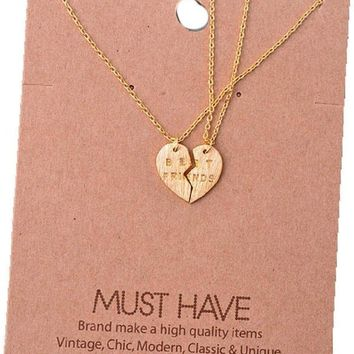 Must Have-Best Friend Necklace, Gold