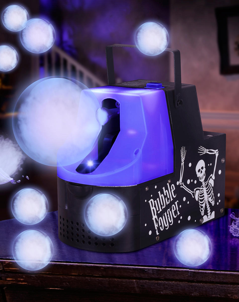Black Light Bubble Fogger Machine – from Spirit Halloween