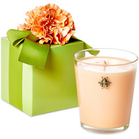 12 oz Bee Candle w/ Gift Box, Flowers, Filled Candles