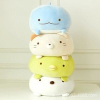 Japanese Animation sumikko doll San-X Corner Bio pillow cute cartoon plush toys Soft Pillow 4 style