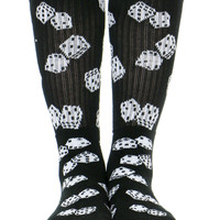 DICE CREW SOCKS - Black