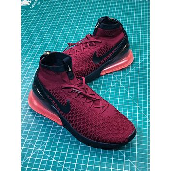Nike Air Footscape Magista Flyknit 270 Red Sport Running Shoes