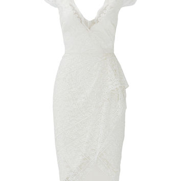 Marchesa Notte Hana Dress