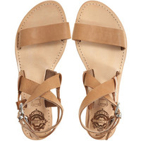 SOLSANA Avery Leather Sandal