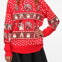 Urban Renewal Vintage Ugly Holiday Sweatshirt